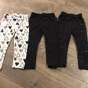 Set of 3 Jumping Beans leggings